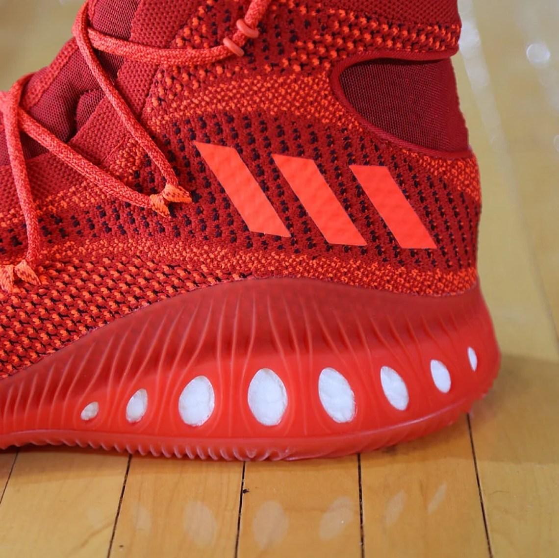 adidas Crazy Explosive Red 6