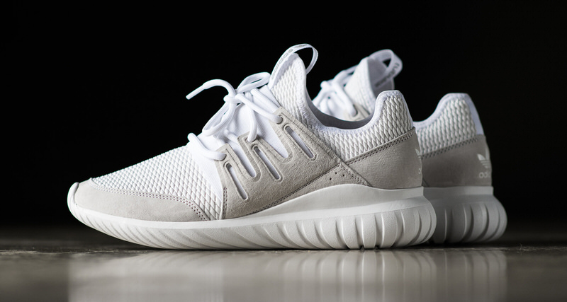 Adidas Tubular Radial Light Grey