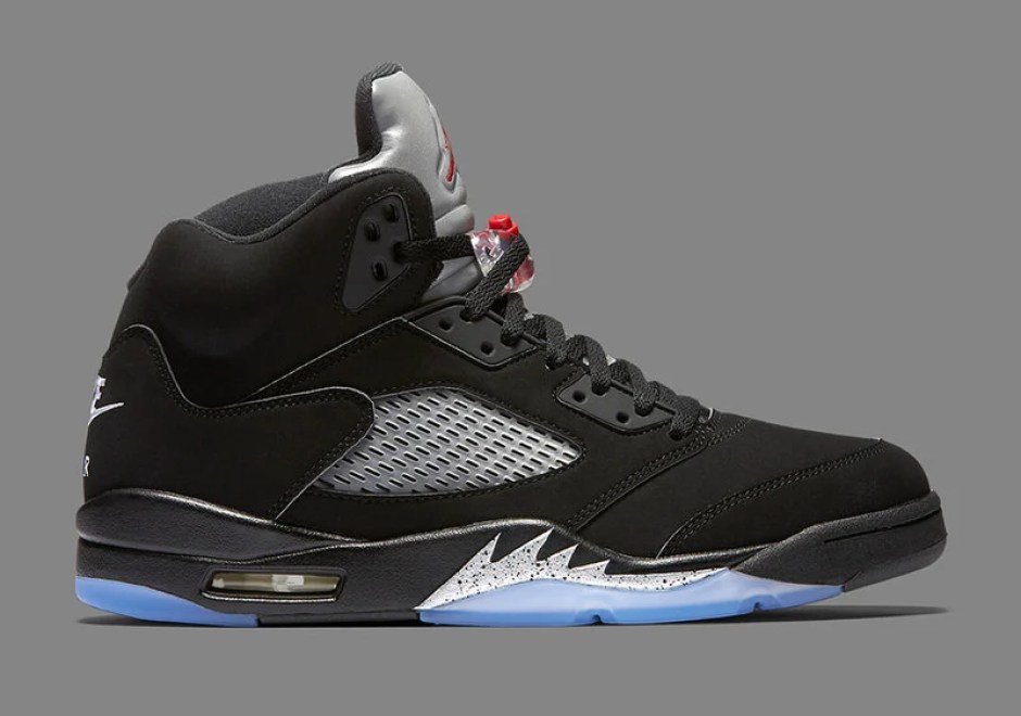 outlet store 13702 afba5 A Detailed Look at the Air Jordan 5 OG Black/Metallic | Nice ...
