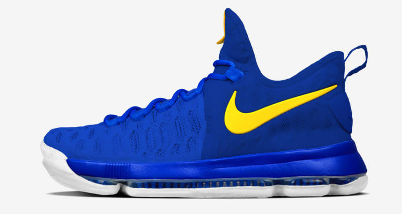 NIKEiD KD 9 Warriors