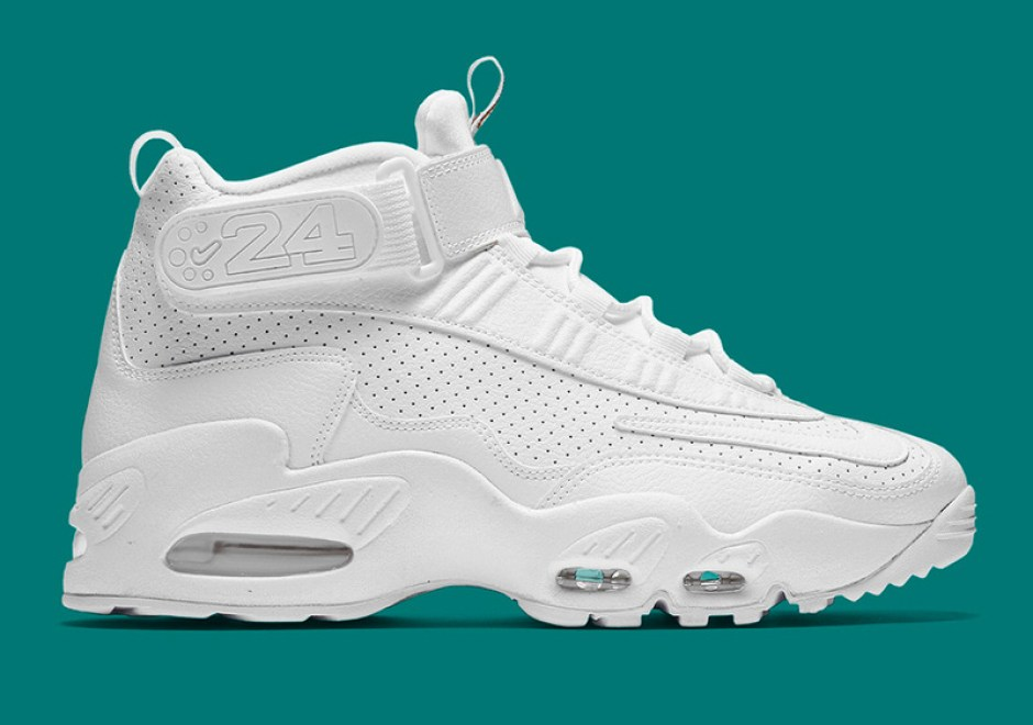 Nike Air Griffey Max 1 Triple White
