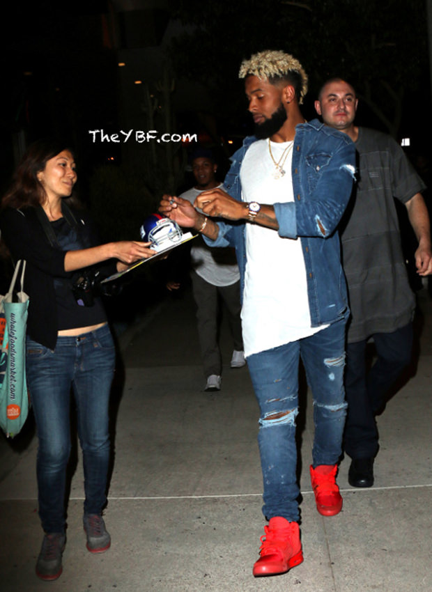 ... Odell Beckham Jr. in the Nike Air Yeezy 2