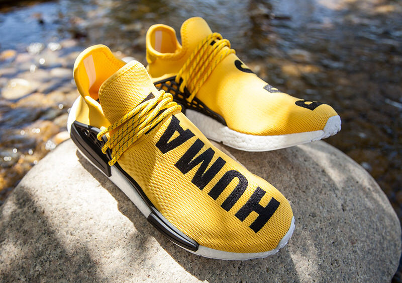 adidas yellow shoes pharrell