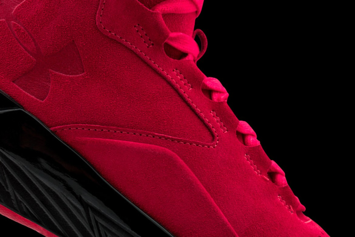 Under Armour Curry Lux Red