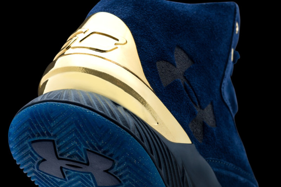 Under Armour Curry Lux Blue