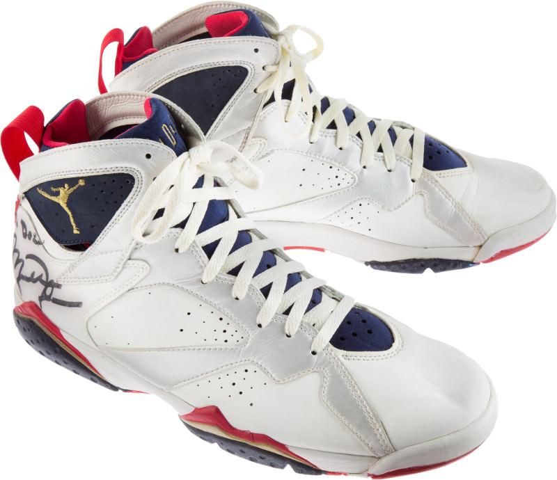 new concept c8e1d ee43b MJ dream-team-sneaker-auction-air-jordan-7 oi67jc