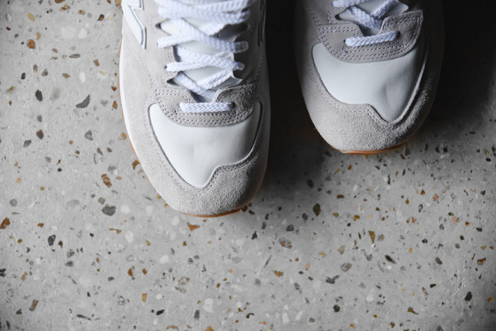 End X New Balance M575 Quot Marble White Quot Available Now