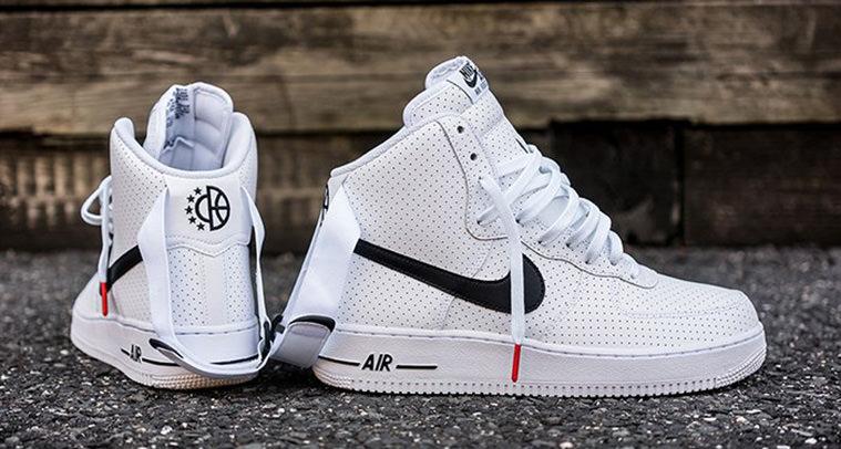 7c5bced71533 Nike Air Force 1 High Perf White Black