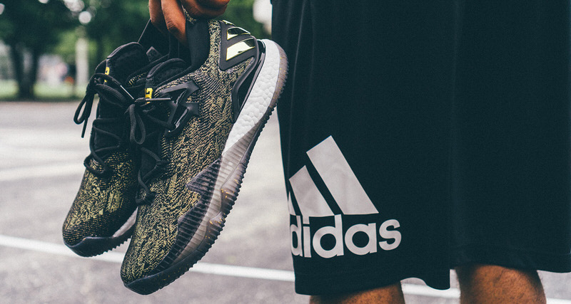 596f3434cd76 adidas Crazylight 2016 James Harden PE Gets the Golden Touch