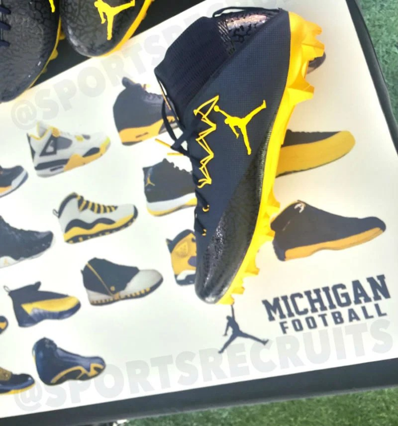 Michigan Wolverines x Jordan Brand