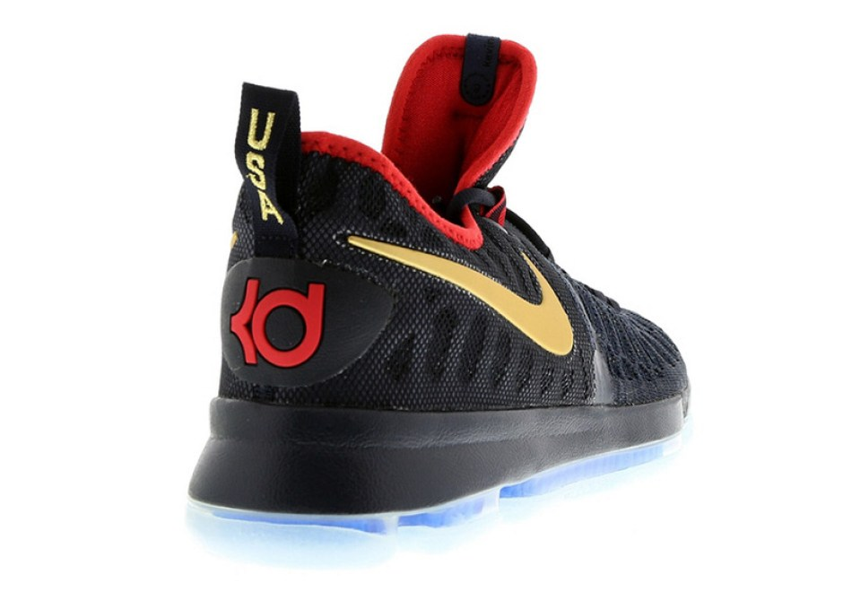 afdbef3cf0de Nike KD 9 Gold Swoosh Nike KD 9 Gold Swoosh