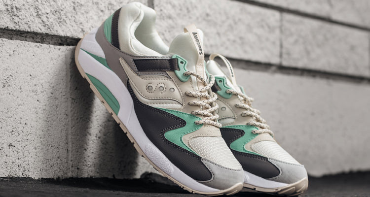 dadf5636 Saucony Grid 9000 Light Tan/Mint // Available Now