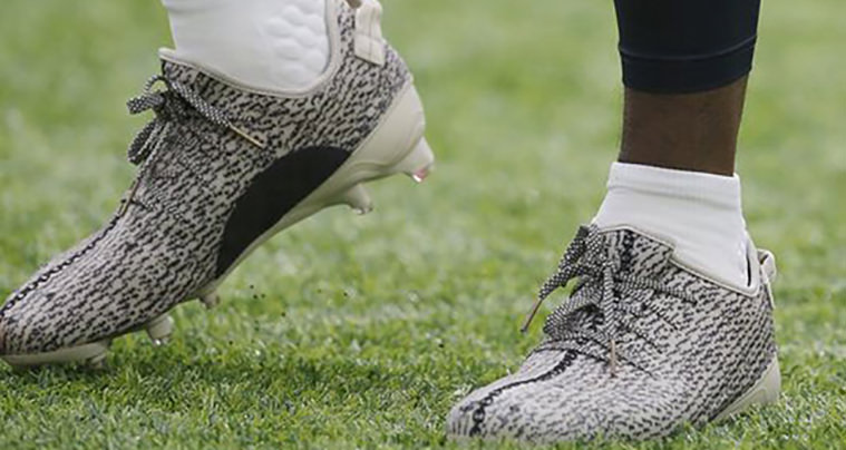 83af2ae56db4b The NFL Just Banned adidas Yeezy 350 Cleats
