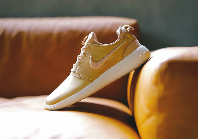 huge discount 25173 fd383 ... white bright mango gold trainers uk online e07a5 promo code for nikelab roshe  two leather 94119 31f9d usa nike ...