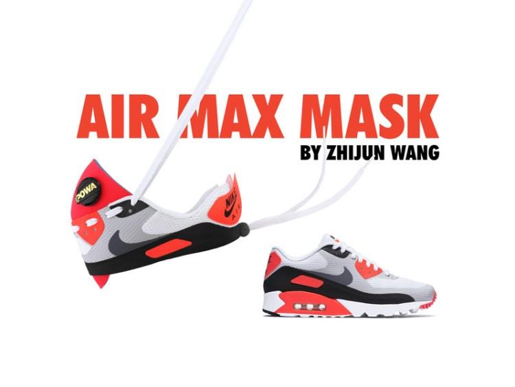 Air Max 90 Mask by Zhijun Wang