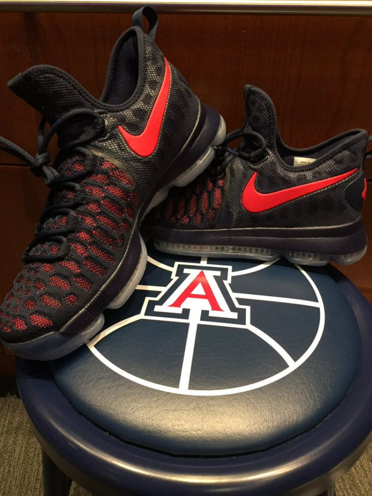6370d31a5ec Arizona Gets Their Own Nike KD 9 PE