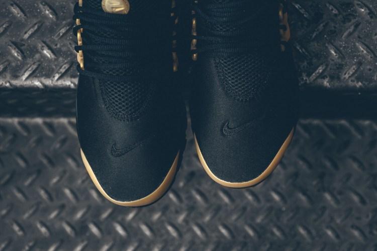 the latest 84b8e 8cd03 ... Nike Air Presto Essential Black Metallic Gold