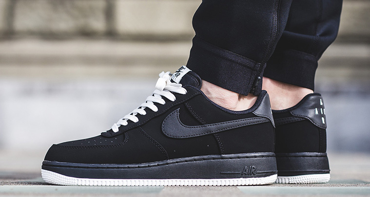 pretty nice fc453 2de2d Nike Air Force 1 Low Drops in Monochromatic Black/White ...