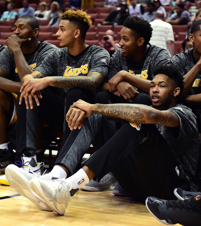 Brandon Ingram in the adidas Crazylight Boost Low 2016