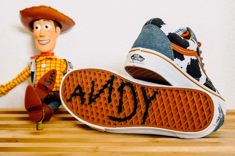 vans woody toy story