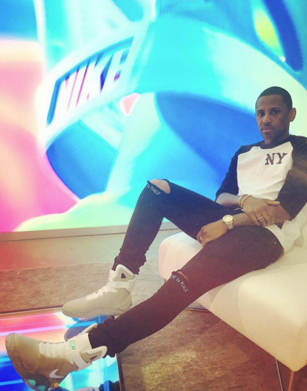 Fabolous in the Nike MAG