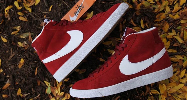 Nike Blazer Mid Team Red