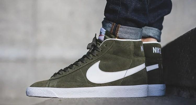 Nike Blazer Mid Urban Haze Green
