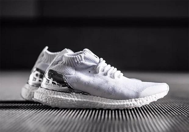 Ronnie Fieg x adidas Ultra Boost Mid White/Silver