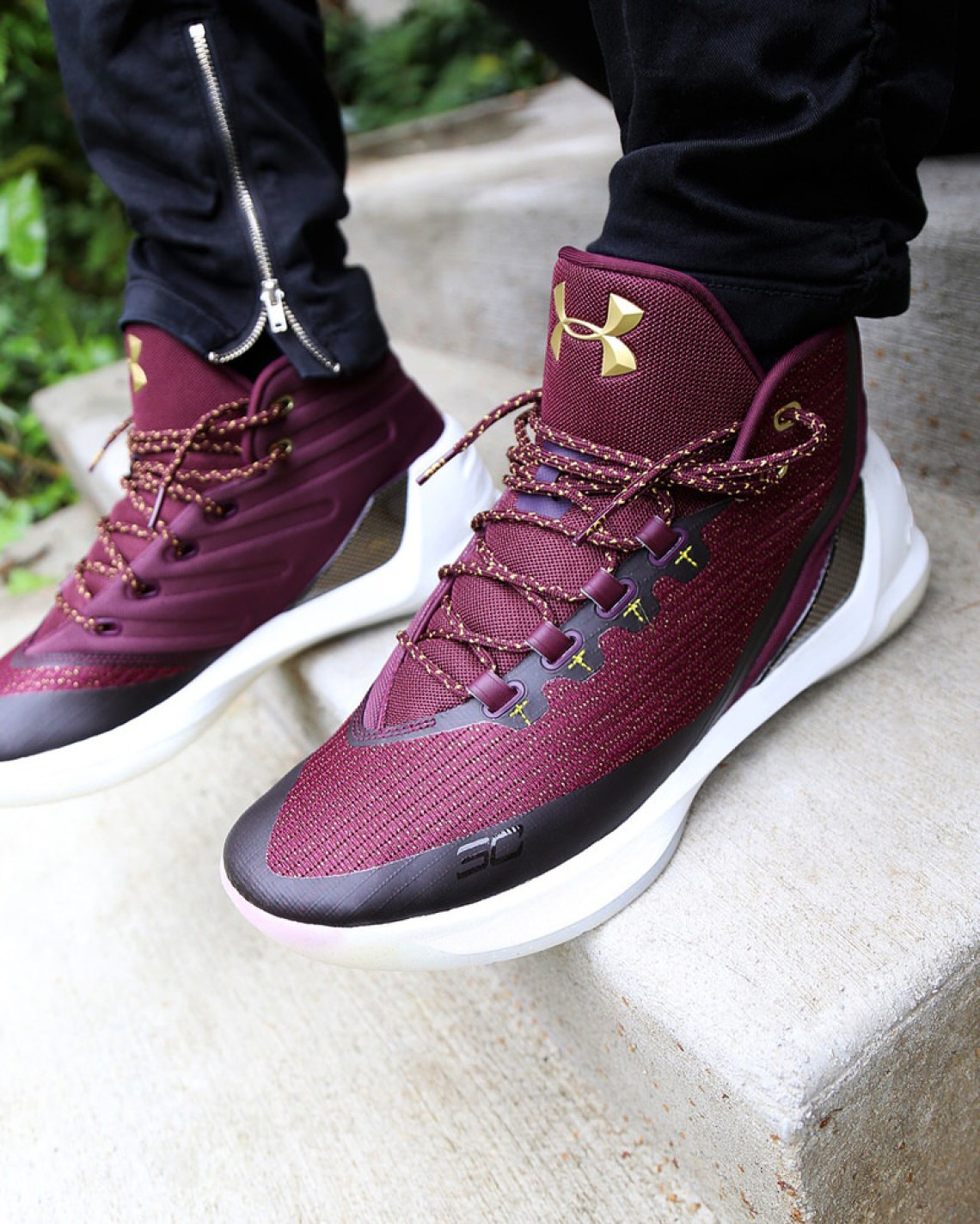 under armour curry 3 wine