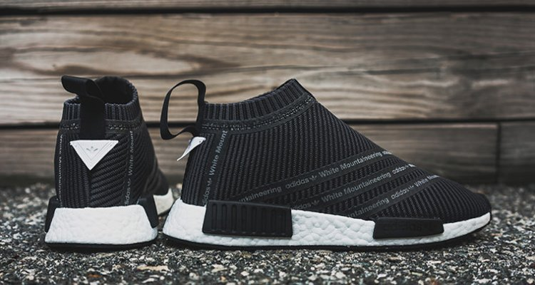 adidas NMD City Sock Black/White / Coming Soon
