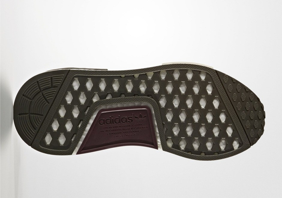 adidas NMD R1 Olive/Maroon