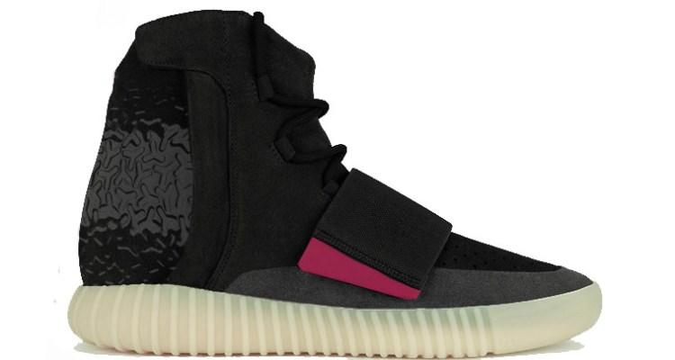 adidas Yeezy Boost 750 Black/Pink