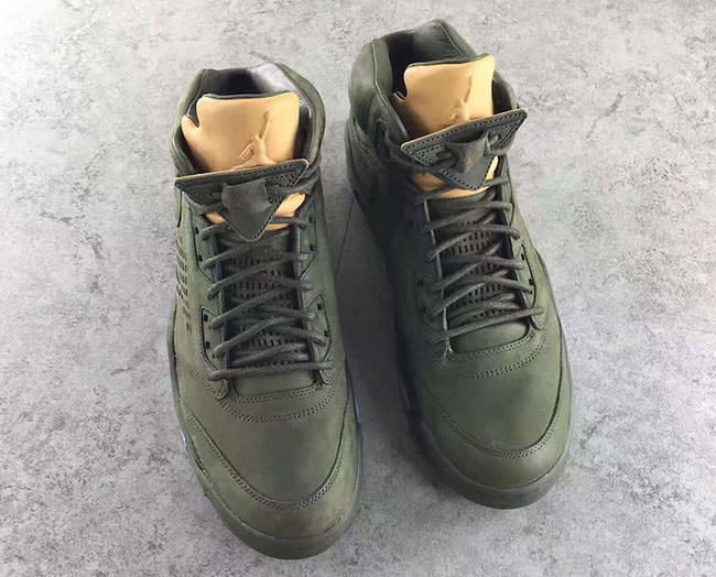 91f2a97cfcd Air Jordan 5 Premium Sequoia/Vachetta Tan // Another Look   Nice Kicks