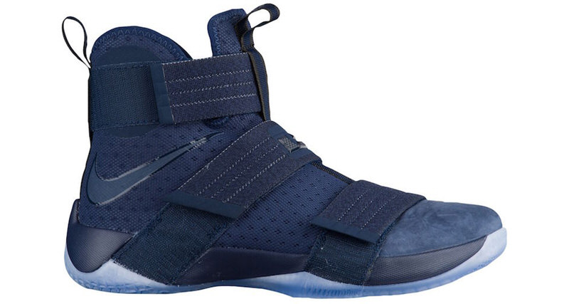 """newest a1396 dee82 Nike LeBron Soldier 10 """"Midnight Navy"""" Drops Tomorrow"""