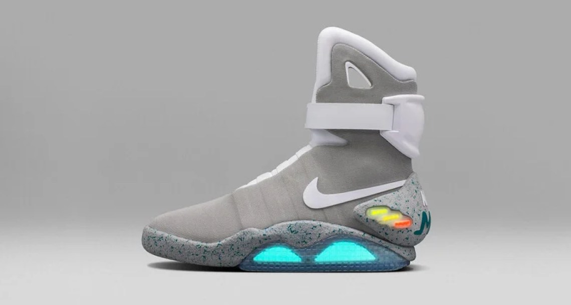 meet 8572f e7eb6 Nike MAG Goes for 200,000 at New York City Auction  Nice Kic