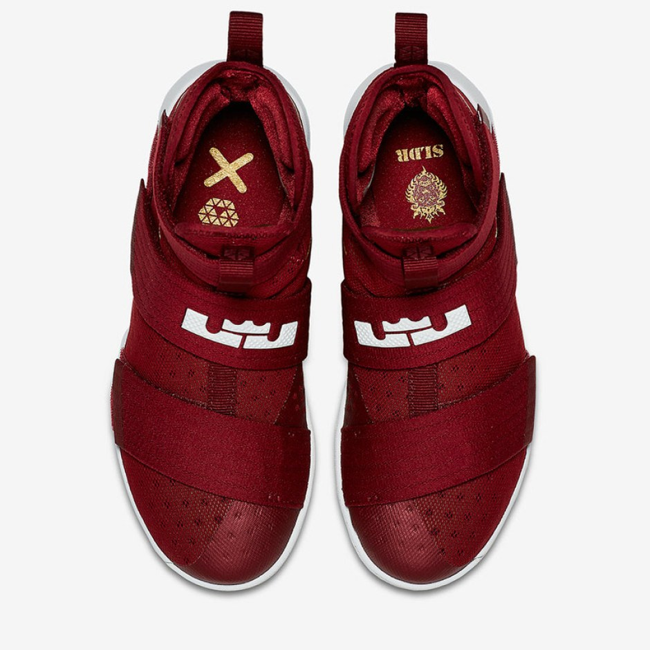 """promo code 626a4 a2aeb Nike LeBron Soldier 10 """"Team Red"""" ..."""