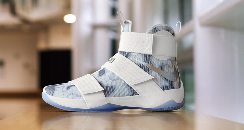 ade4584a60c0 ... nike zoom lebron soldier 10 id adds white camo option for veterans day  nice kicks