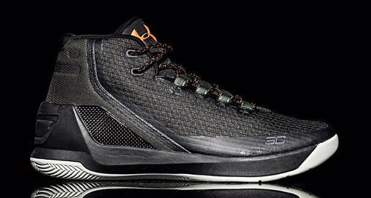 Under Armour Curry 3 Black/Gold