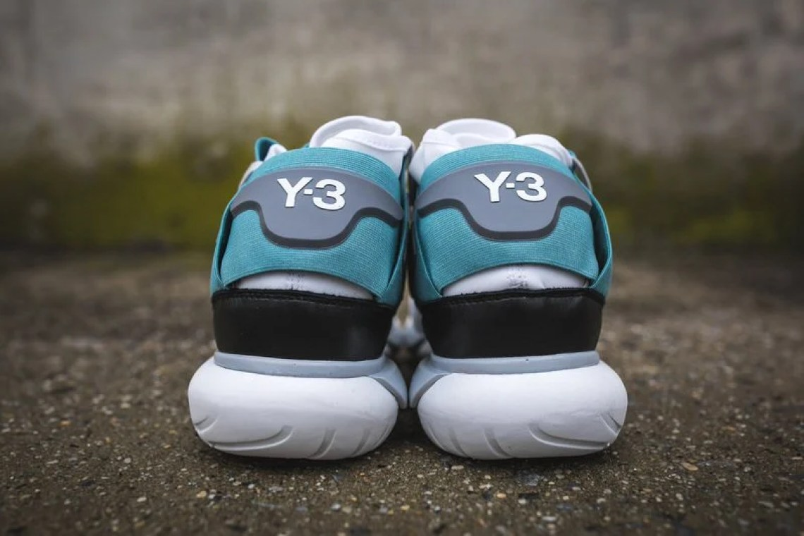 sports shoes 5c755 424d4 ... adidas Y-3 Qasa High Crystal White Vapour Steel