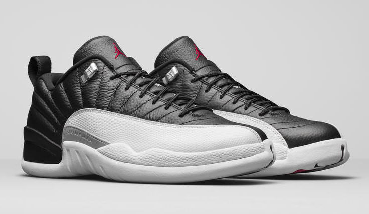"Air Jordan 12 Low ""Playoffs"""