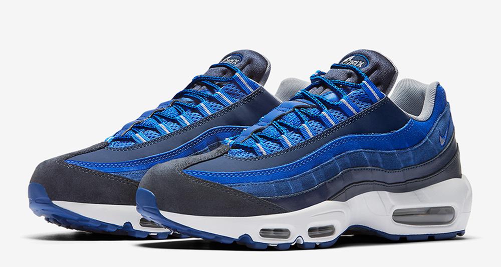 sélection premium 1f2ee cdcd6 Nike Air Max 95 Returns in Shades of Blue | Nice Kicks