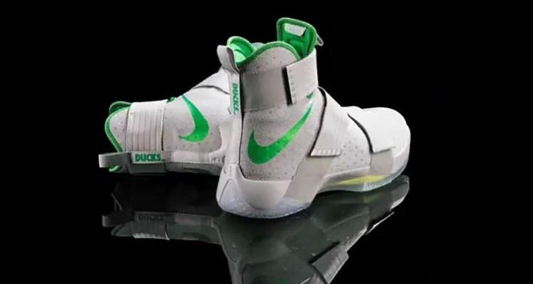 "Nike LeBron Soldier 10 ""Oregon Ducks"" PE"