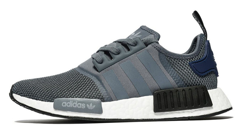 de1c23af8 adidas NMD R1 Grey Collegiate Navy Lands Exclusively at JD Sports ...