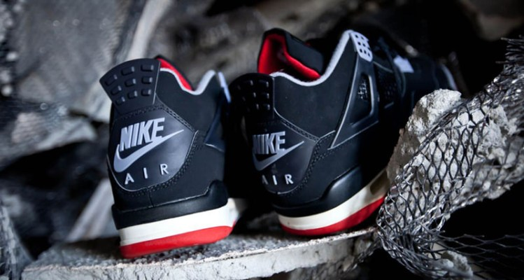 61ee44dfe52 Air Jordan 4 Black Red