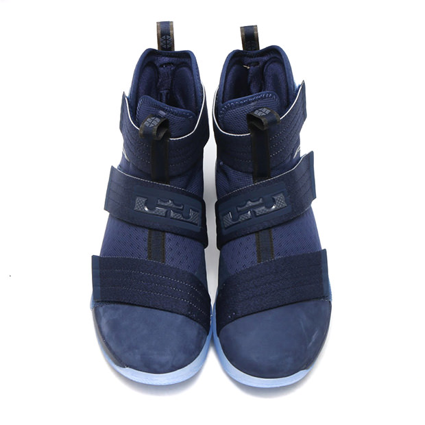 "Nike LeBron Soldier 10 Suede Toe ""Midnight Navy"""