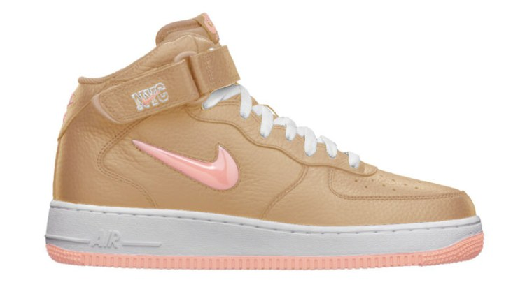 """Nike Air Force 1 Mid Jewel """"Linen"""""""
