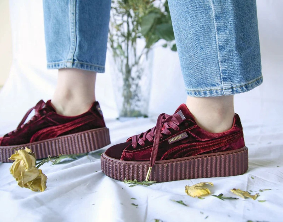 0b1d4dc21be67 Switch the Style Up How to Wear the Rihanna Puma Fenty Velvet ...