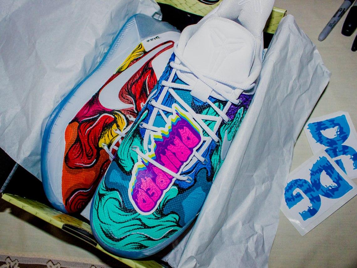 "Nike Kobe A.D. ""Hot & Cold"" Custom by Dizzuane"