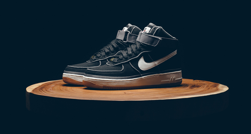 finest selection bfb90 d33d3 ... clearance nike air force 1 high canvas comes with updated piping e0985  f18b0