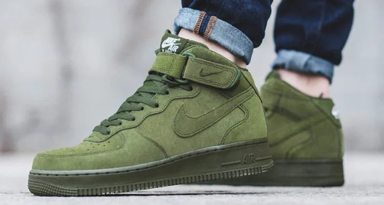 f381eae2cf5 ... new zealand nike air force 1 mid legion green available now eb046 f0ef9